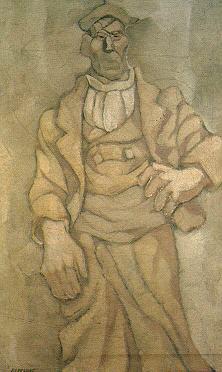 Molinero aragonés, ca.1924 Oleo sobre tela
