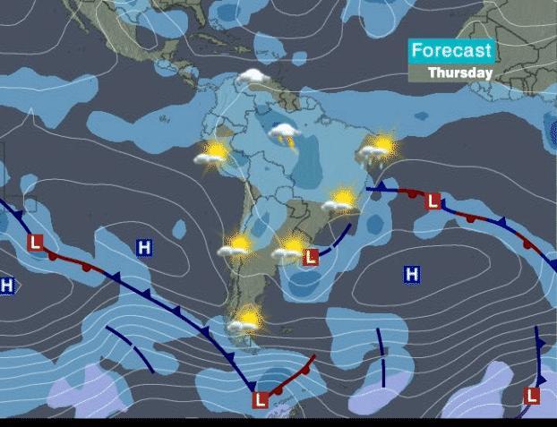inia pronostico clima: