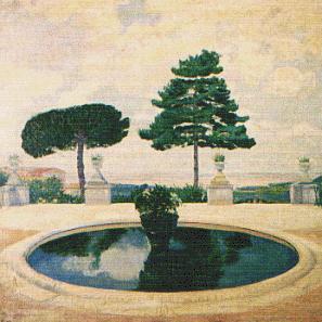 Fuente de Albano, Italia  año 1911.