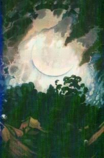 Luna Nueva óleo de 1933