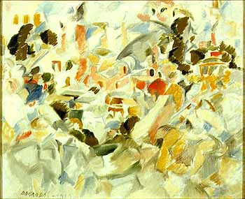 Atocha 1919, Oleo sobre lienzo